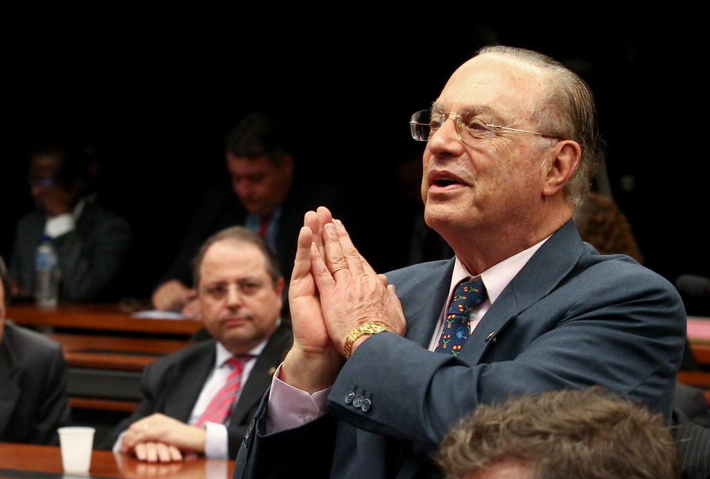 O deputado Paulo Maluf (PP-SP) no plenário da Câmara, em novembro (Foto Pedro Ladeira/Folhapress)