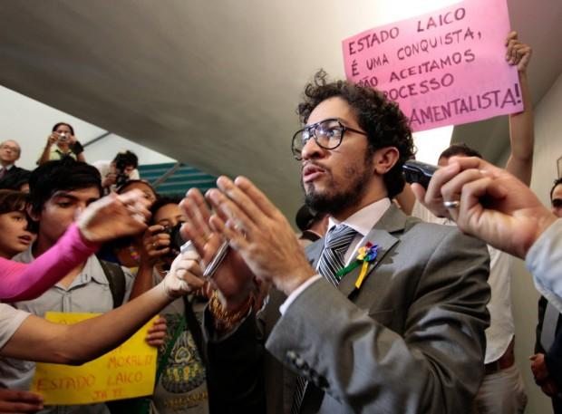 O deputado Jean Willys, que será segundo-vice-presidente da CDH (Foto: Folhapress)