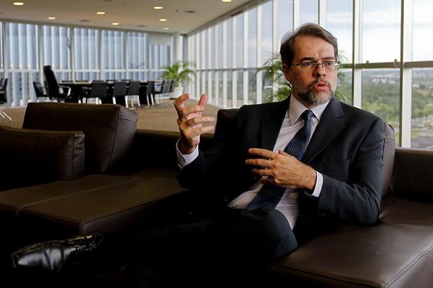 O ministro do STF Dias Toffoli, que presidirá a 2ª Turma da Casa (Alan Marques/Folhapress)