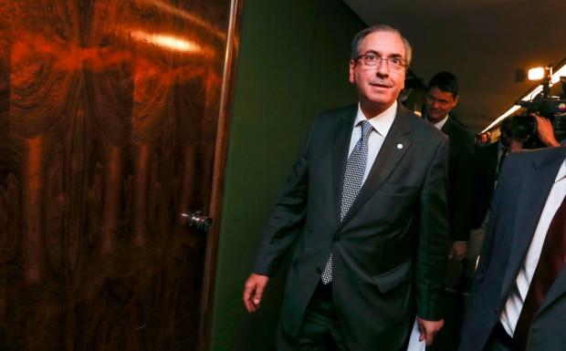 Eduardo Cunha, retratado como líder da oposição por jornal dos EUA (Foto: Pedro Ladeira/Folhapress)