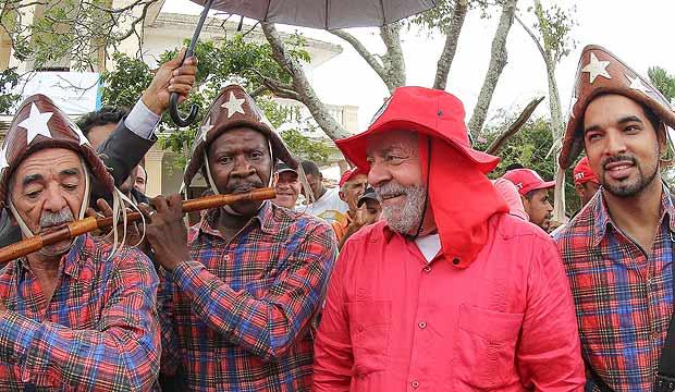 Resultado de imagem para caravana de lula em pernambuco